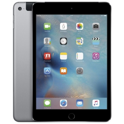 Apple iPad mini 4 128GB LTE Space Gray фото 1