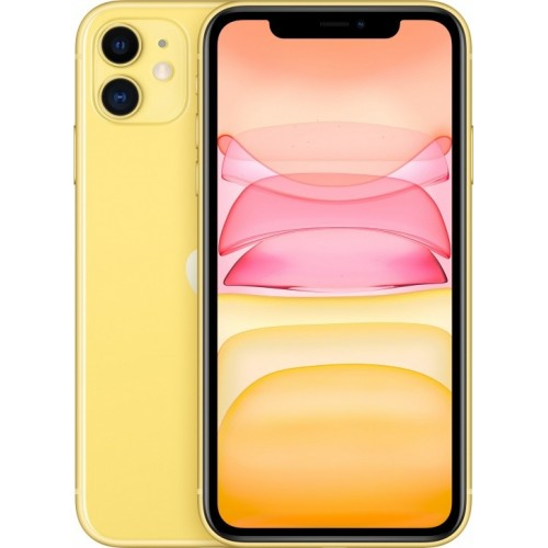 Apple iPhone 11 128GB Dual SIM (желтый) фото 1