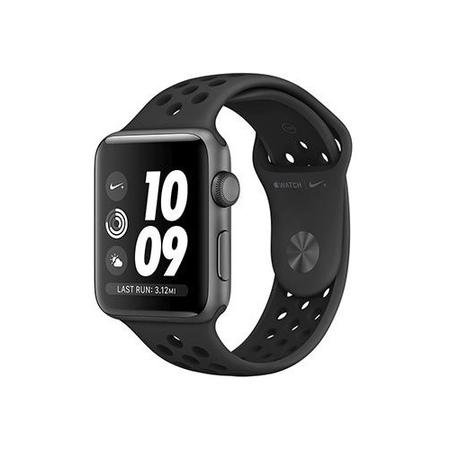 Apple Watch Nike+ 42mm Space Gray with Black Nike Sport Band [MQ182] фото 1
