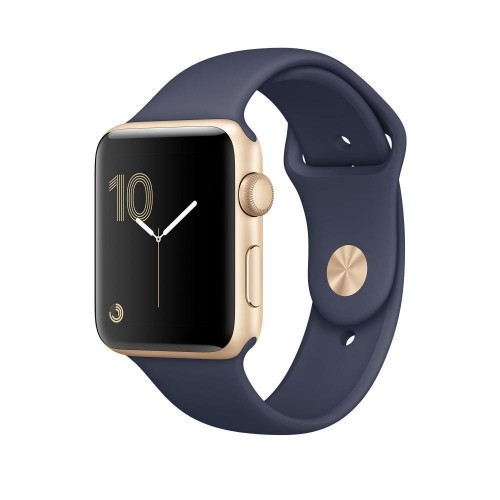 Apple Watch Series 1 42mm Gold with Midnight Blue Sport Band [MQ122] фото 1