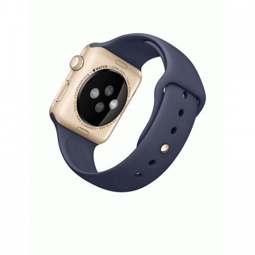 Apple Watch Series 1 42mm Gold with Midnight Blue Sport Band [MQ122] фото 3