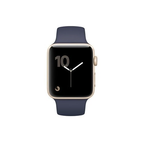 Apple Watch Series 1 42mm Gold with Midnight Blue Sport Band [MQ122] фото 4
