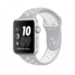 Apple Watch Nike+ 42mm Silver with Flat Silver/White Nike Band [MNNT2] фото 1